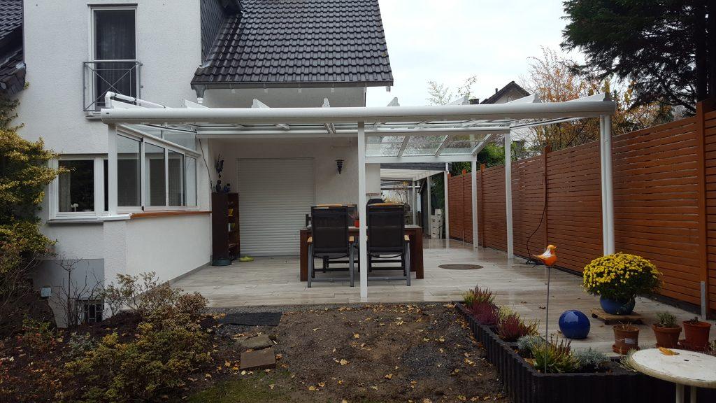 Terrassenüberdachung Satteldach