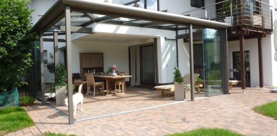 Gemeinsame Terrasse mit Verglasung - REH Bautechnik &TX_52